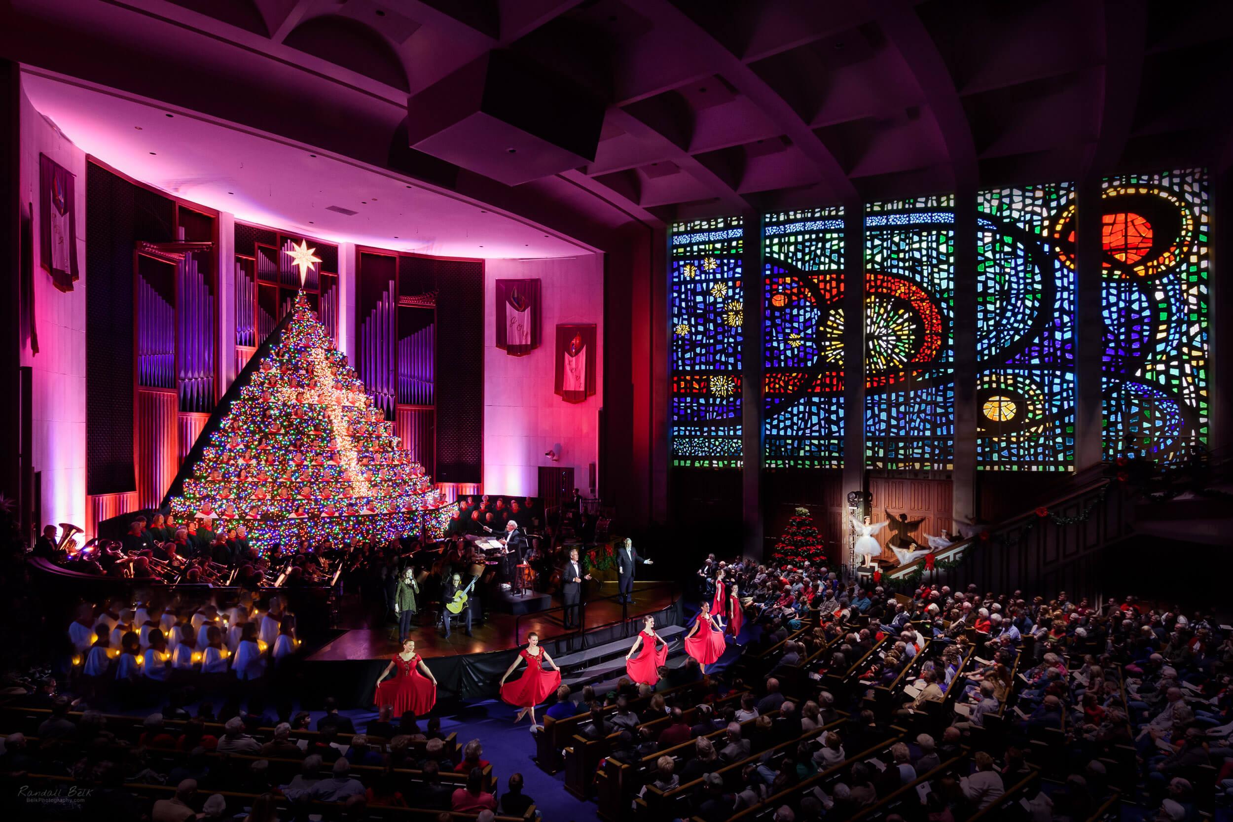 First Baptist Huntsville Al Living Christmas Tree 2020 The Living Christmas Tree in a Single Image
